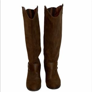 Target Suede Like Brown Boots size 9 ½